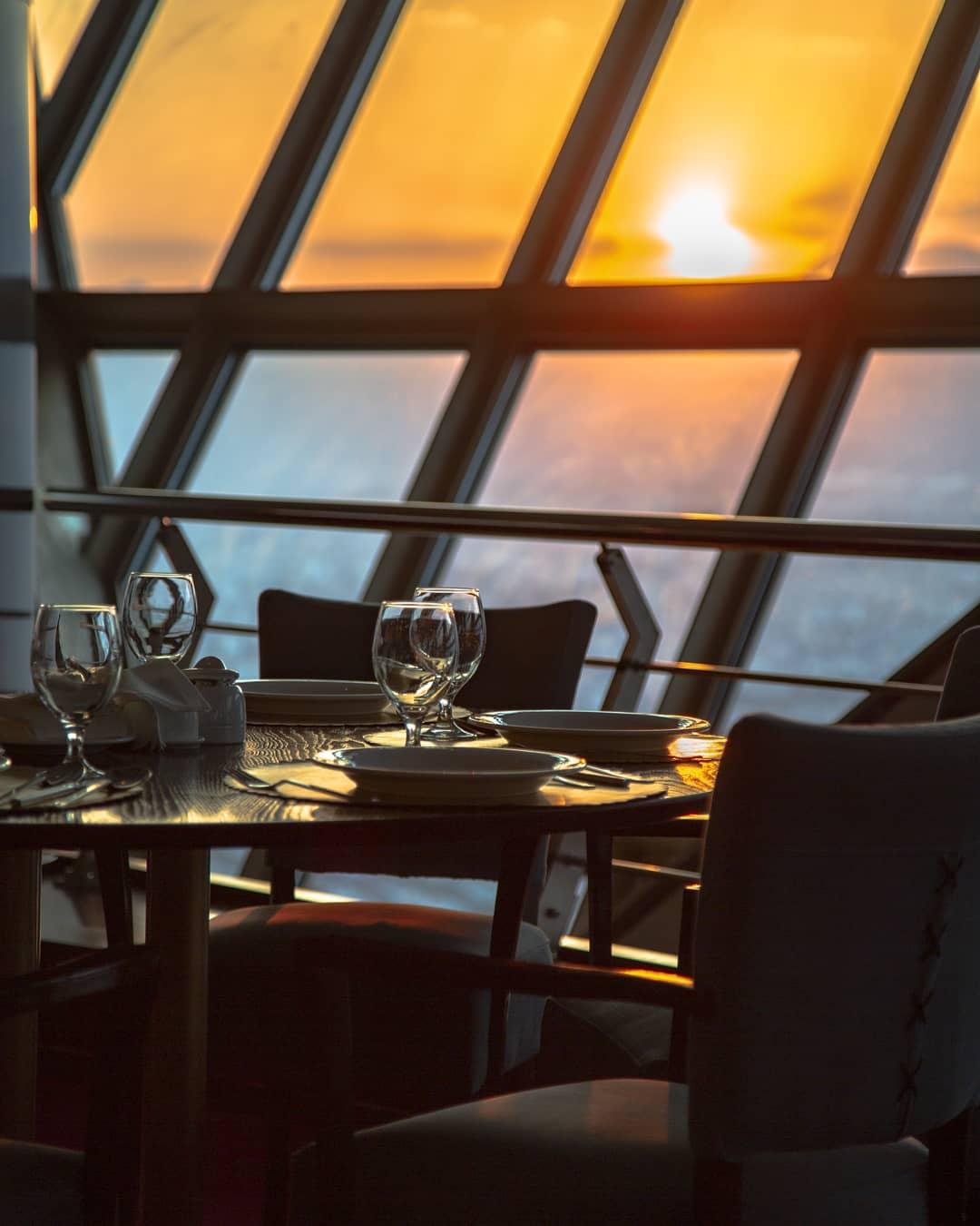رستوران برج گردان میلاد
