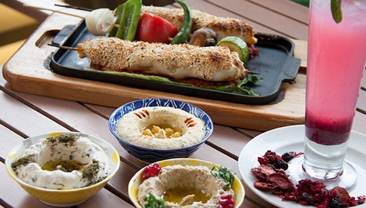 رستوران کوبابا؛ تنها رستوران با غذاهای لبنانی