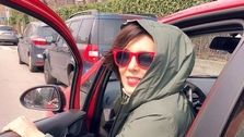 تصاویر لورفته از لیلا بلوکات در ایتالیا! +استایل های جنجالی بلوکات