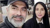 عکس جدید مهدی پاکدل در کنار همسرش