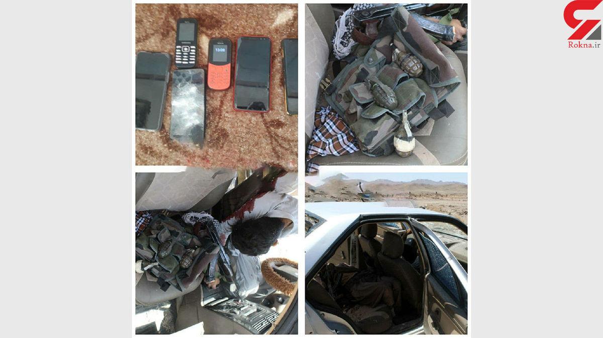 تصاویری از جنازه تروریست ها در سیستان و بلوچستان