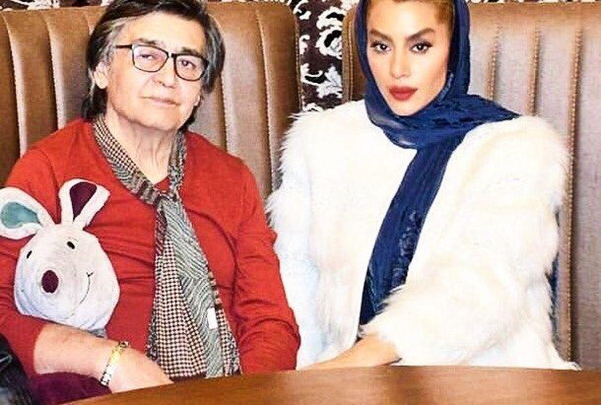 عشق و عاشقی رضا رویگری و همسرش با 43 سال اختلاف سنی!