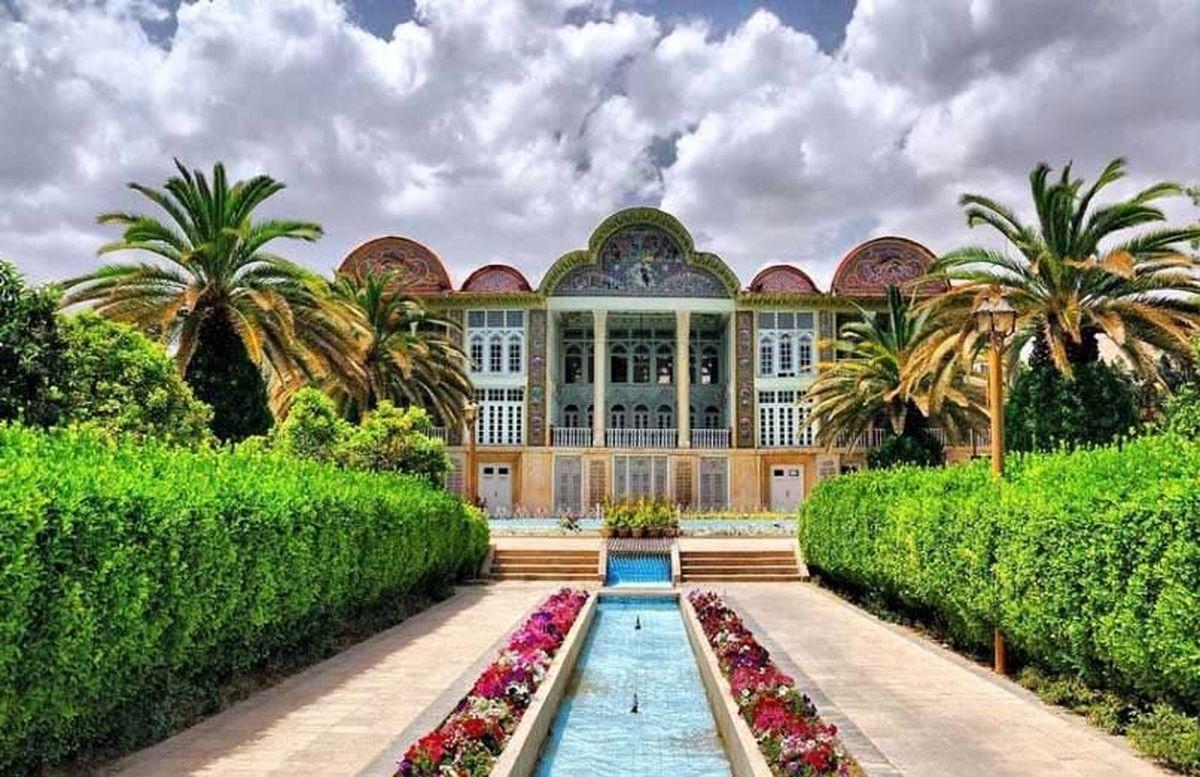 جاهای دیدنی شیراز؛ باغ ارم شیراز