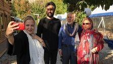 عکس دیده نشده از بهاره رهنما در کنار همسرش