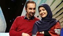 سوتی نیما کرمی و همسرش روی آنتن زنده! +فیلم