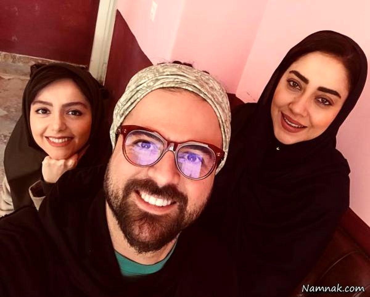 عکس جدید هومن سیدی و همسر جدیدش بیتا اصلانی