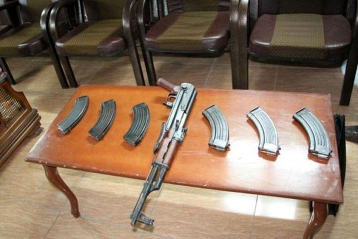 کشف محموله سلاح قاچاق در خوزستان