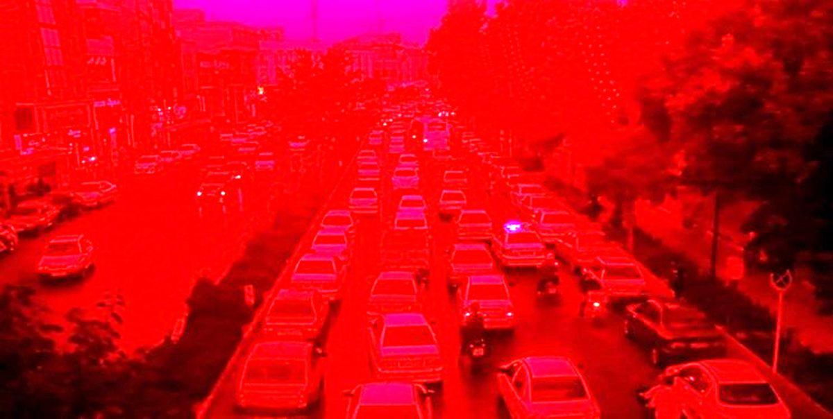 کل استان تهران قرمز شد