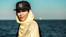 عکس جدید لیلا اوتادی در ساحل دریا