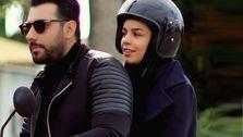 عکس جنجالی احسان خواجه امیری و همسر و فرزندش در خارج از کشور