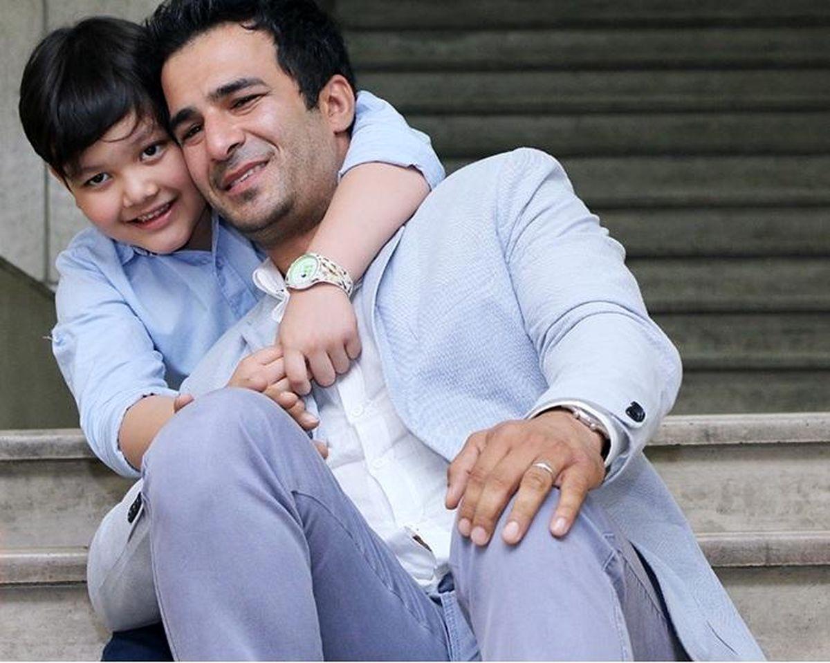 عکس لورفته از یوسف تیموری و دخترعمویش در خارج از کشور!