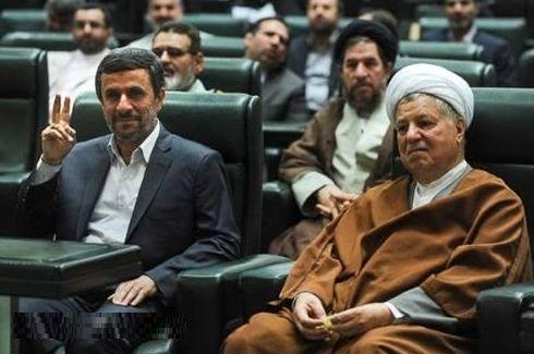 واکنش آیتالله هاشمی به شکست در مقابل احمدینژاد+لو رفته