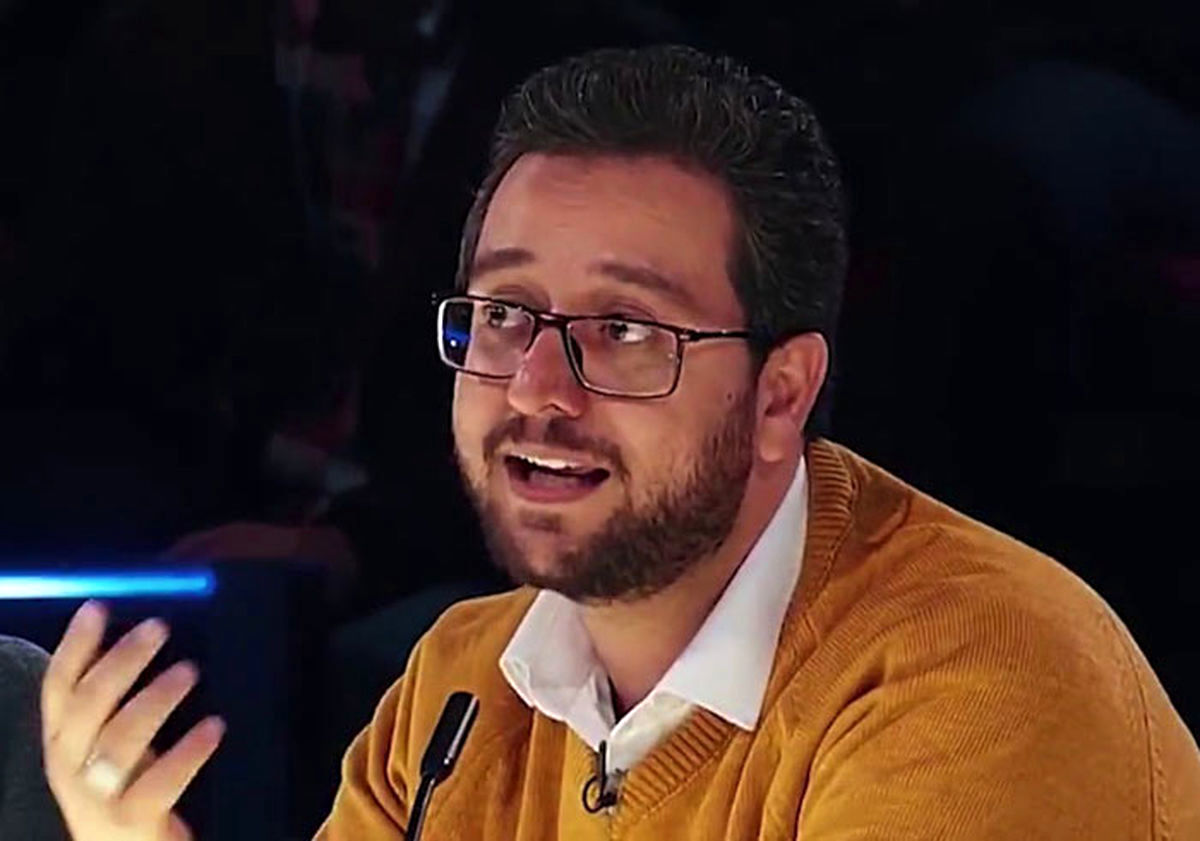 سوتی عجیب سید بشیر حسینی در تلویزیون + فیلم