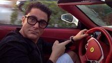 بوگاتی سواری محمدرضا گلزار جنجال به پا کرد! +فیلم لورفته