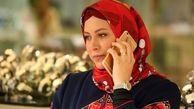 جنجال فریبا نادری برای حجابش در کربلا | فیلم فریبا نادری