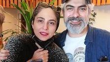 عشق و عاشقی مهدی پاکدل و همسر جدیدش سوژه شد! +عکس