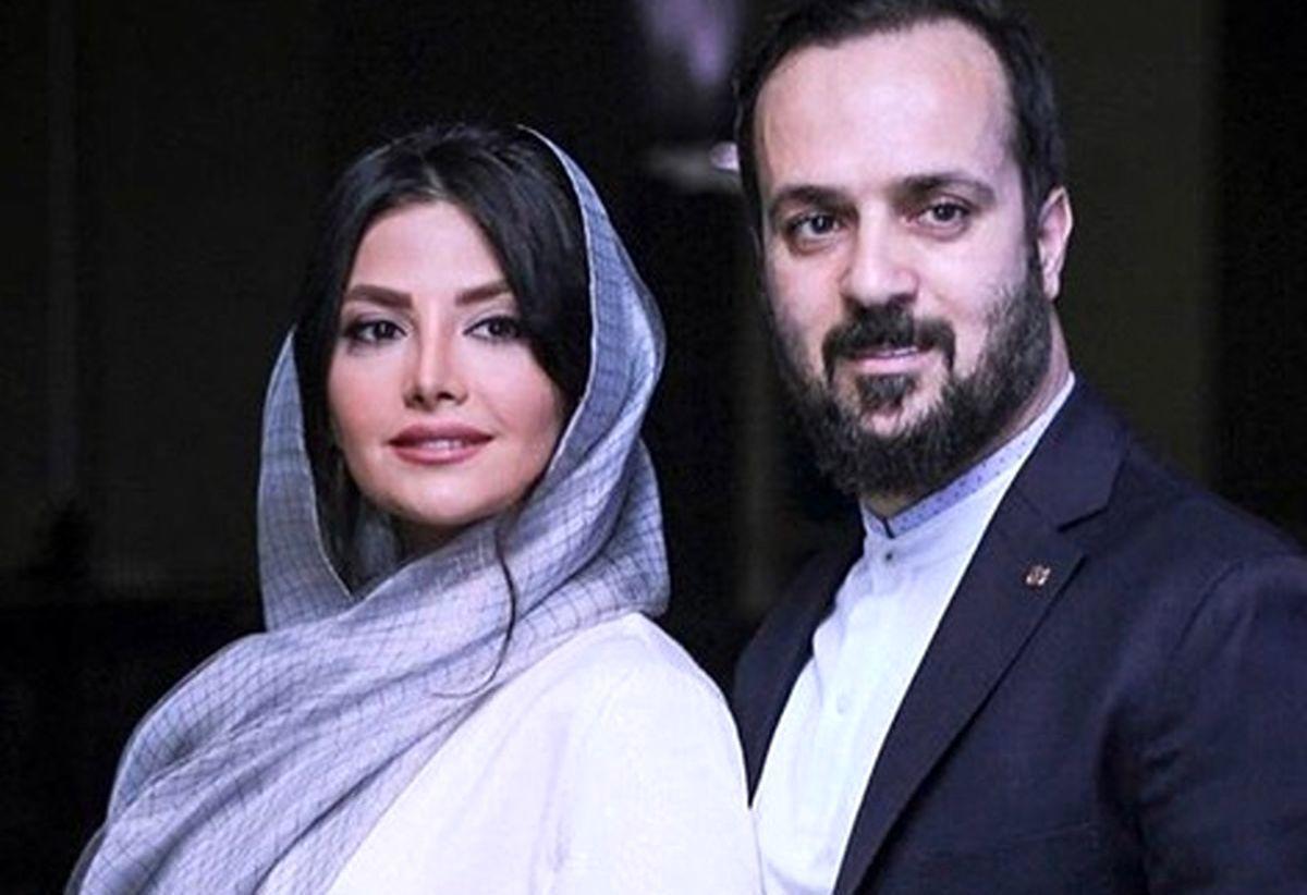 عاشقانه همسر احمد مهرانفر جنجال به پا کرد+عکس دونفره