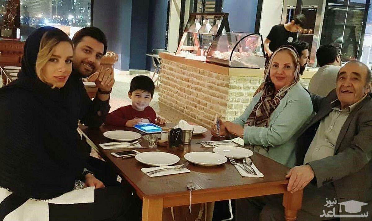 احسان خواجه امیری در ویلای لاکچری اش لب دریا! +عکس همسر احسان خواجه امیری