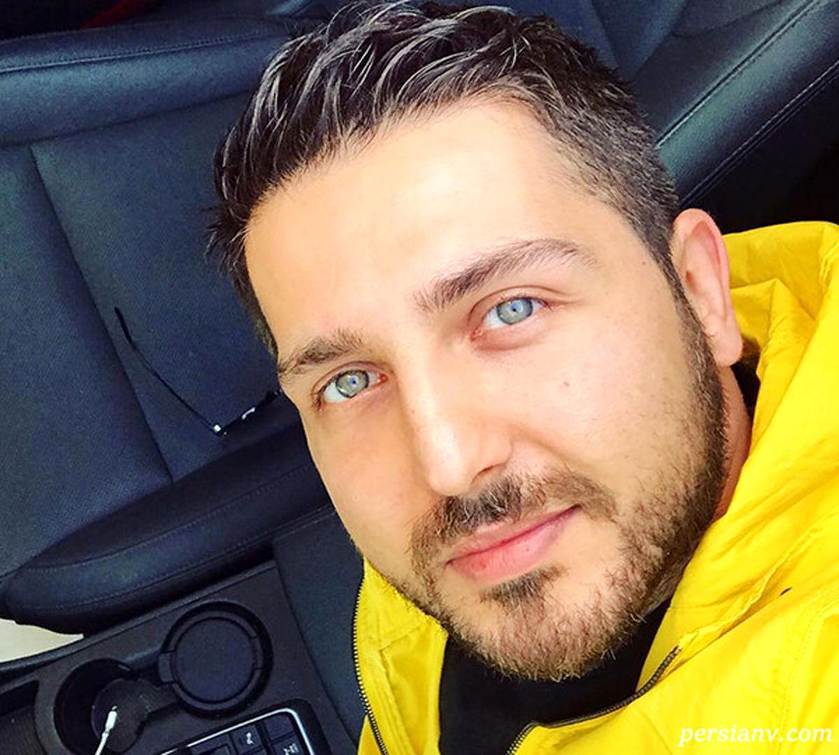 چهره جدید محمدرضا غفاری در ماشین مدل بالایش! +تصاویر لورفته