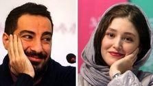 عشق عجیب نوید محمدزاده به فرشته حسینی + فیلم