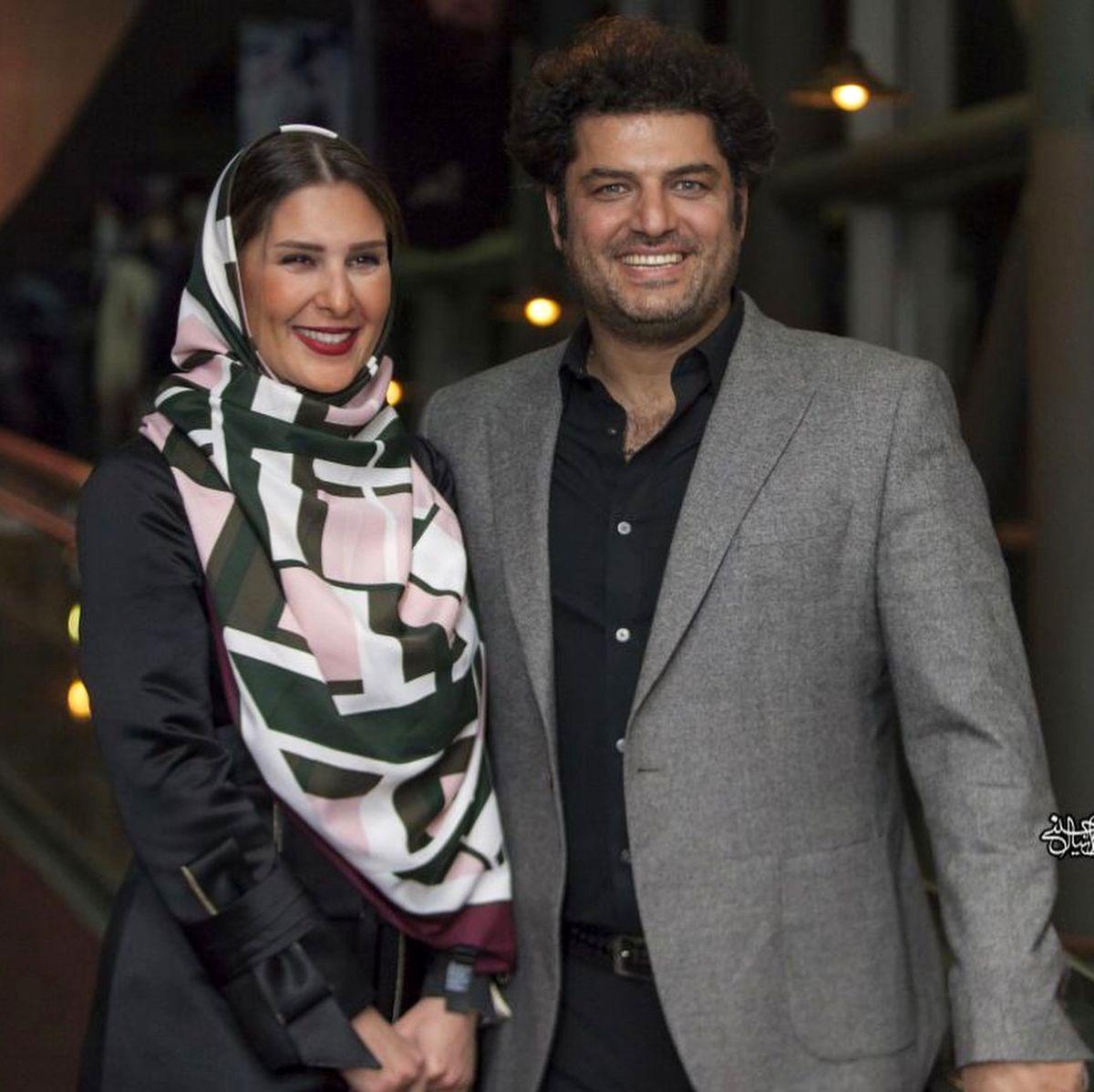 نحوه آشنایی سام درخشانی و همسرش عسل امیرپور