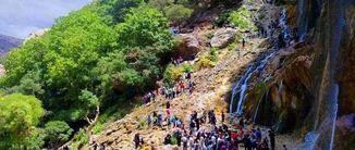 آبشار بیشه لرستان، گنجینهای دیدنی در دل جنگلهای بلوط