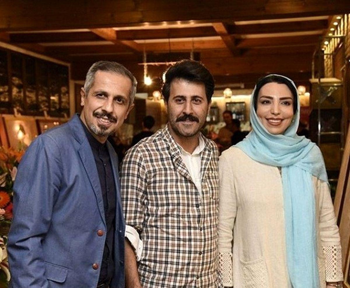 دورهمی بازیگران معروف در کافه جواد رضویان! +عکس لورفته